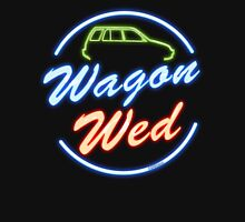 Wagon Wed Neon Unisex T-Shirt