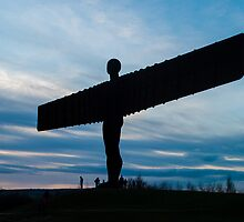 Angel of the North by biiyangkah