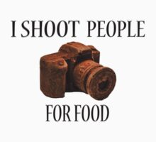 I Shoot People For Food One Piece - Long Sleeve
