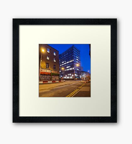 Dublin Streets Framed Print
