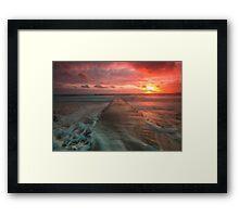 St Clement sundown 2 Framed Print