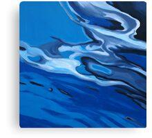 """Untitled"" oil on wood Canvas Print"