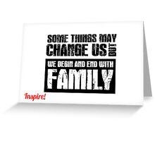 Things Change Greeting Card