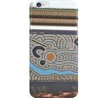 Mural, Halls Creek, Kimberley, Western Australia, Panorama iPhone Case/Skin
