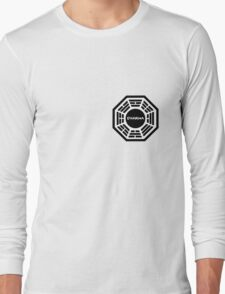 Dharma Initiative logo uniform Long Sleeve T-Shirt