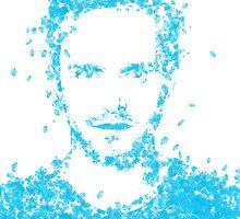 Breaking Bad Jesse Pinkman Blue Sky by Karolis Butenas