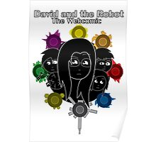 David and the Robot Cover T-Shirt Poster