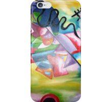 Kandinsky - oil painting iPhone Case/Skin