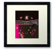 Garden of seven nights Framed Print