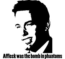 Affleck Was The Bomb Photographic Print