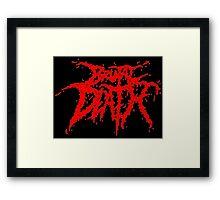Brutal Death Metal Framed Print
