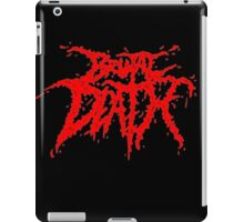 Brutal Death Metal iPad Case/Skin