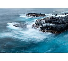 Rocks and Ocean Photographic Print