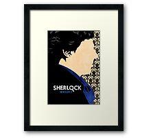 Sherlock. Framed Print