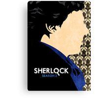 Sherlock. Canvas Print