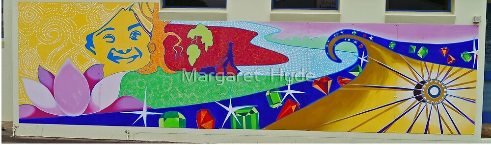 Mural 2, Grafton, New South Wales, Australia (panorama) by Margaret  Hyde
