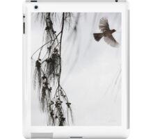 Japanese Bird on Maui Born For Freedom (diptych image 2 of 2) iPad Case/Skin