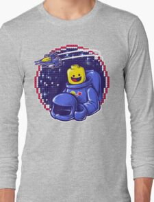 Portrait of a Space-Man Long Sleeve T-Shirt