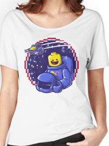 Portrait of a Space-Man Women's Relaxed Fit T-Shirt