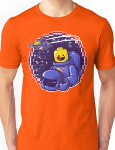 Portrait of a Space-Man Unisex T-Shirt
