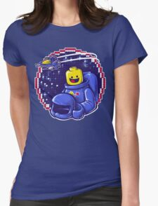 Portrait of a Space-Man Womens Fitted T-Shirt