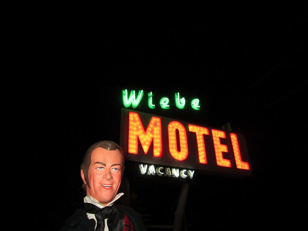 Rex Harrison at the Wiebe Motel by Michael Ryan