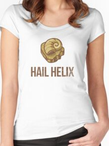 Hail Helix Fossil Women's Fitted Scoop T-Shirt