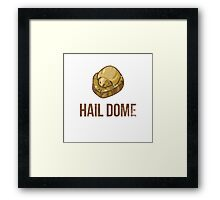 Hail Dome Fossil Framed Print