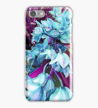 blue orchids iPhone Case/Skin