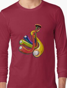 Heart cable Long Sleeve T-Shirt