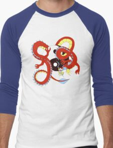 Chinese Dragon of Balance Men's Baseball ¾ T-Shirt