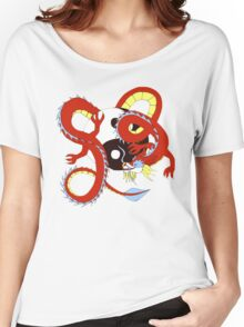 Chinese Dragon of Balance Women's Relaxed Fit T-Shirt