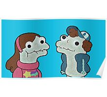 Sock Puppet Twins Poster