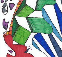 Geometric Caterpillar by Blair Chranowski