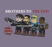 Lulz Of War: Brothers to the end by davidjonesart