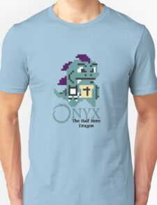 8-bit Onyx with text T-Shirt
