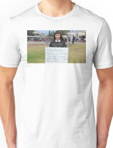 FEMINISM: A TEENS FIGHT FOR EQUALITY IN THE WORLD Unisex T-Shirt