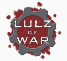 Lulz Of War logo by davidjonesart