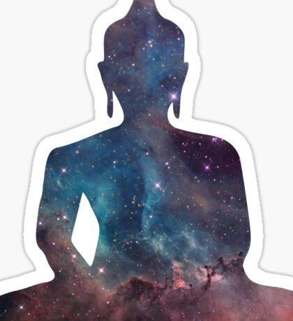 Buddha Nebula Sticker
