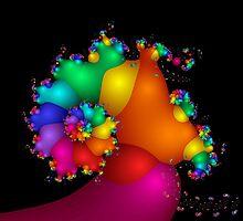 Rainbow Nudibranchia by owlspook