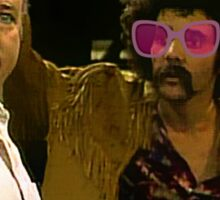 Hipster At Archie Bunker's Door Sticker