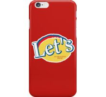Let's Potato Chips (Community) iPhone Case/Skin
