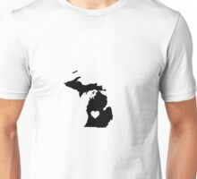 Michigan <3 Unisex T-Shirt