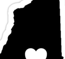 New Hampshire <3 Sticker