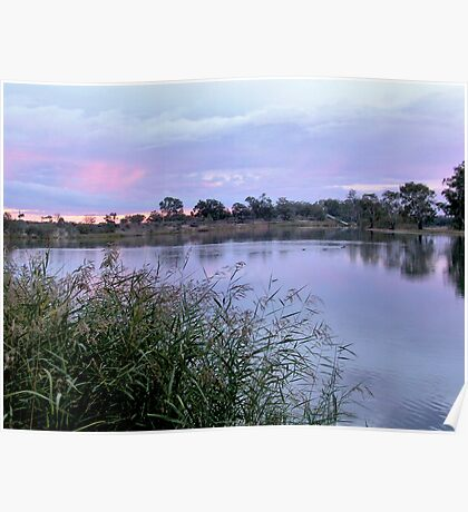 Along the Murray River Poster