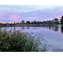 Along the Murray River Photographic Print