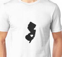 New Jersey <3 Unisex T-Shirt