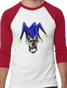 Skull Joker Men's Baseball ¾ T-Shirt