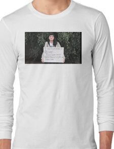 FEMINISM: A TEENS FIGHT FOR EQUALITY IN THE WORLD Long Sleeve T-Shirt