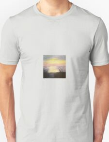sunset oil painting T-Shirt